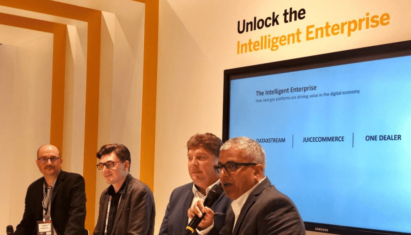 sap partners, sapappcenter, mwc2019, barcelona, tim yates, dataxstream, partner solutions, intelligent enterprise, digital economy