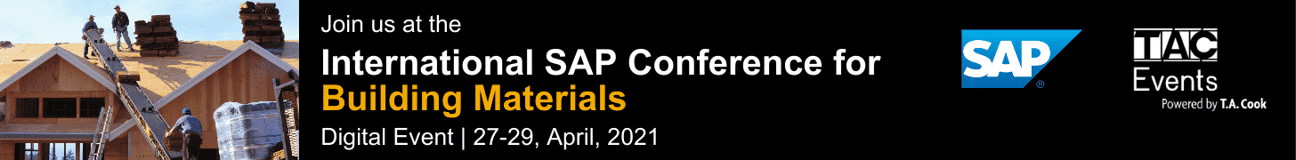 International SAP Conference for Building Materials 2021