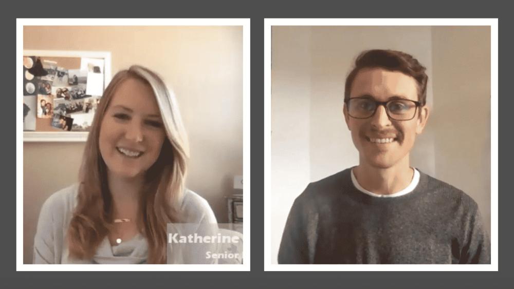 Senior Developer Katherine Guglielmo and Senior Account Executive Jonny King