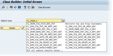 image of Enhanced Search with typeahead functionality that implements approximate string matching available from SAP AS ABAP 7.4 SP05 and up